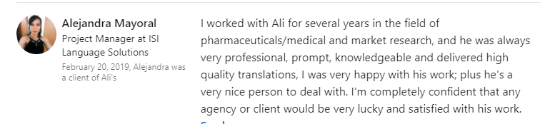 AM - Testimonials